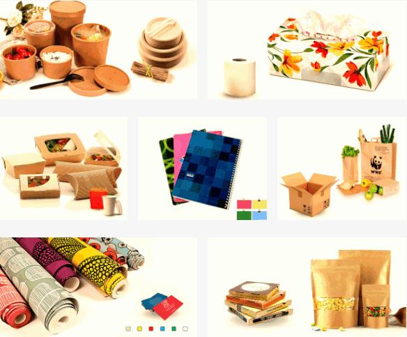 محصولات شرکت سرمایه گذاریصنايع کاغذ پارس با نماد سهام چکاپا