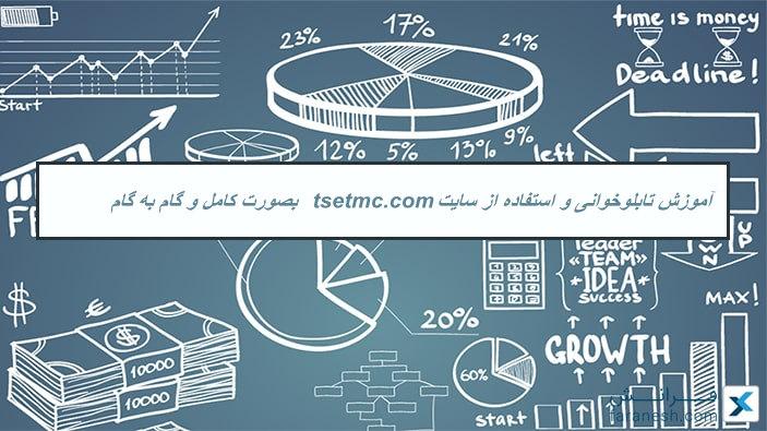 آموزش تابلوخوانی و استفاده از سایت tsetmc.com بصورت کامل و گام به گام