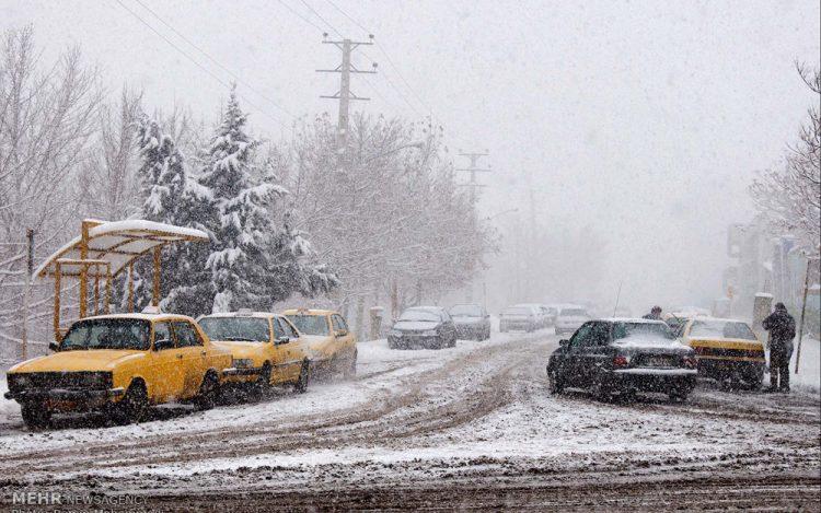 سازمان هواشناسی از ادامه بارش برف و باران در 28 استان تا روز پنجشنبه 6 آذر خبر داد